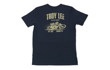 Troy Lee Designs Heritage Tee Men navy